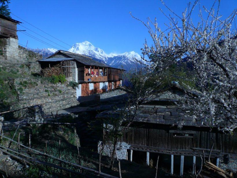 balcon de l'annapurna