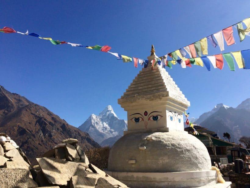Everest panorama Amadablam