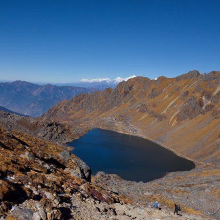 Vallee Langtang lacs sacres