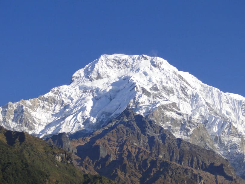 Chomrong (Annapurna South 7819m)
