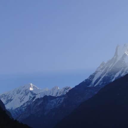 annapurna depuis chomrong
