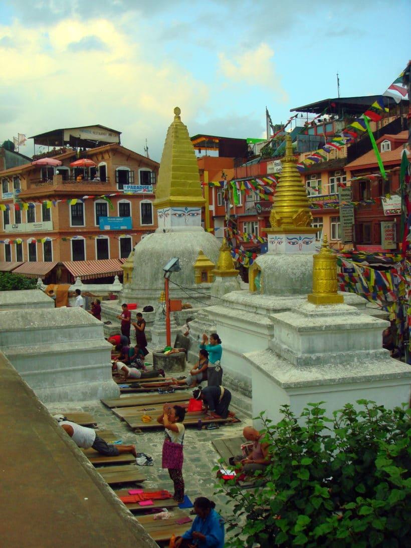 Vallée de Katmandou – Bodhnath