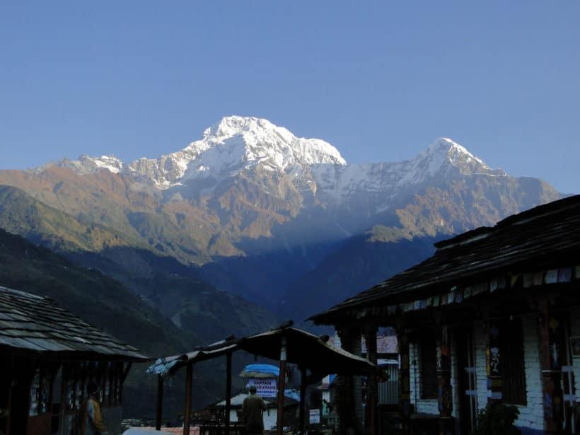 J4 – Landruk (Annapurna south 7819m, Patal Hiun Chuli 6441 m)